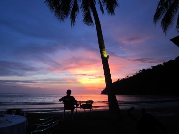 Kvällsstund på Pangkor Islaand